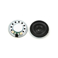20mm Frequency Range Mylar Oval Electronics Speaker with 8ohm 0.25W