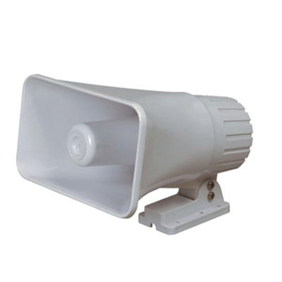 DC 6V 12V Electronic Siren Car Warning Alarm Police Fire Siren Speaker 30w